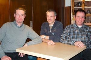 Im Amt bestätigt: Der Vorstand der Fotofreunde Gelnhausen um den Vorsitzenden Dr. Stefan Wüsten (links)